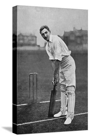 Cricket Charles Burgess Fry-E. Hawkins-Stretched Canvas Print