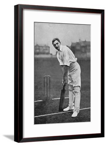 Cricket Charles Burgess Fry-E. Hawkins-Framed Art Print