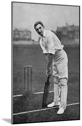 Cricket Charles Burgess Fry-E. Hawkins-Mounted Giclee Print