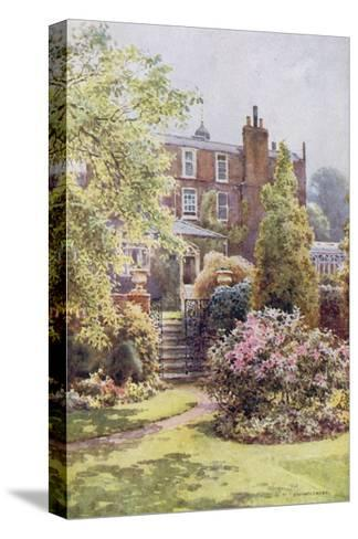 Home of Charles Dickens at Gadshill, Kent-EW Haslehust-Stretched Canvas Print