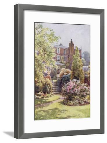 Home of Charles Dickens at Gadshill, Kent-EW Haslehust-Framed Art Print