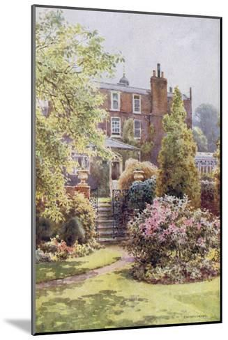Home of Charles Dickens at Gadshill, Kent-EW Haslehust-Mounted Giclee Print