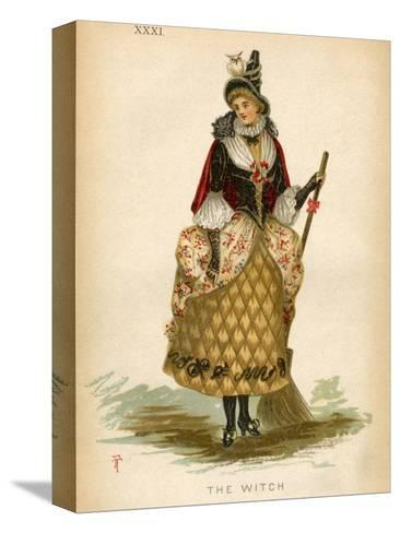 The Witch, Fancy Dress-E Meyerstein-Stretched Canvas Print