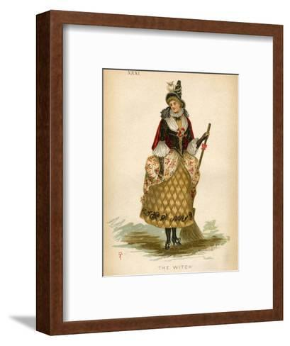 The Witch, Fancy Dress-E Meyerstein-Framed Art Print