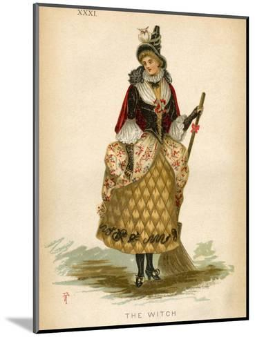 The Witch, Fancy Dress-E Meyerstein-Mounted Giclee Print