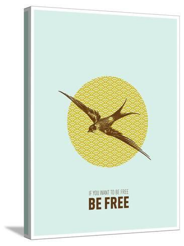 Be Free 2-Rebecca Peragine-Stretched Canvas Print