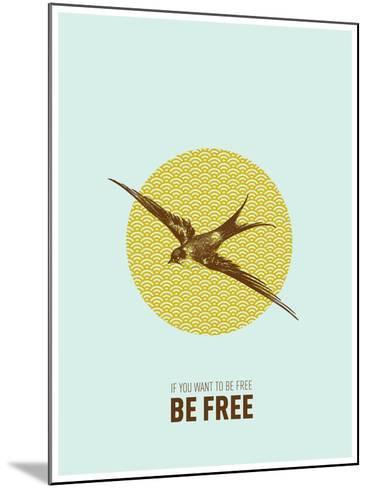 Be Free 2-Rebecca Peragine-Mounted Art Print