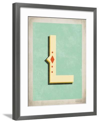 Vintage L-Kindred Sol Collective-Framed Art Print