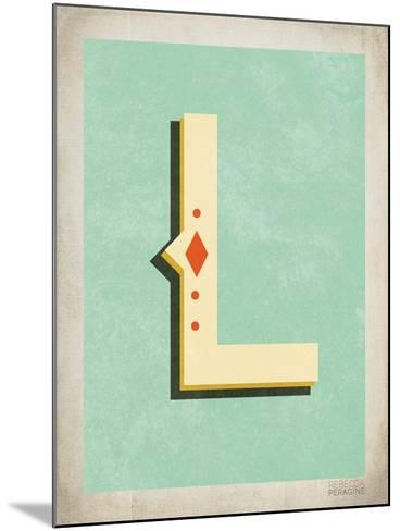 Vintage L-Kindred Sol Collective-Mounted Art Print