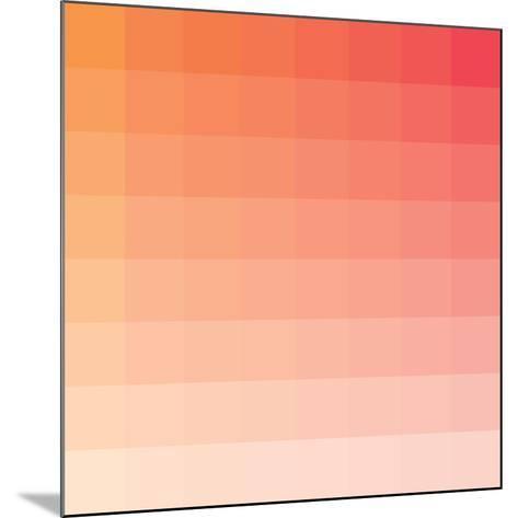 Citrus Square Spectrum-Rebecca Peragine-Mounted Art Print