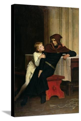 Prince Arthur and Prince Hubert, 1882-William Frederick Yeames-Stretched Canvas Print
