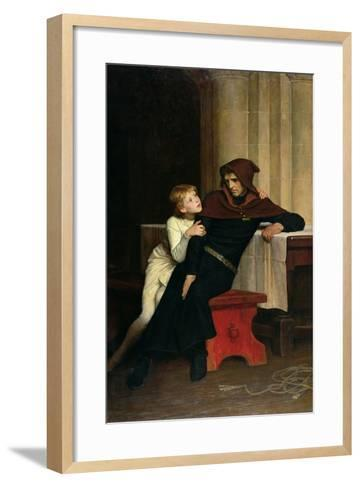 Prince Arthur and Prince Hubert, 1882-William Frederick Yeames-Framed Art Print