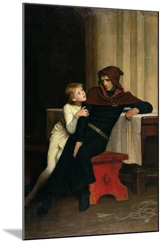 Prince Arthur and Prince Hubert, 1882-William Frederick Yeames-Mounted Giclee Print