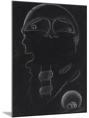 Jellyfish-Philip Henry Gosse-Mounted Giclee Print