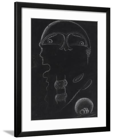 Jellyfish-Philip Henry Gosse-Framed Art Print