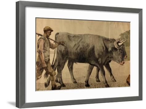 Into Pruning Hooks, from the Series 'The Empire Stands for Peace'--Framed Art Print