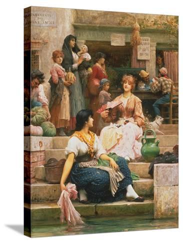 Venetians, 1885-Sir Samuel Luke Fildes-Stretched Canvas Print