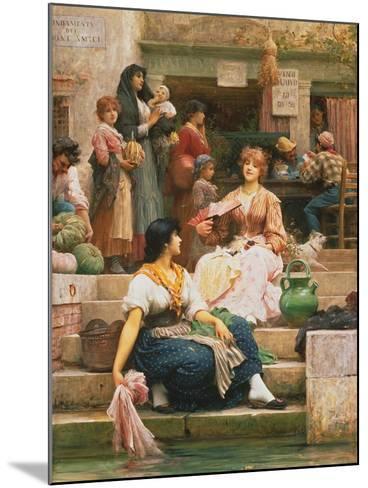 Venetians, 1885-Sir Samuel Luke Fildes-Mounted Giclee Print