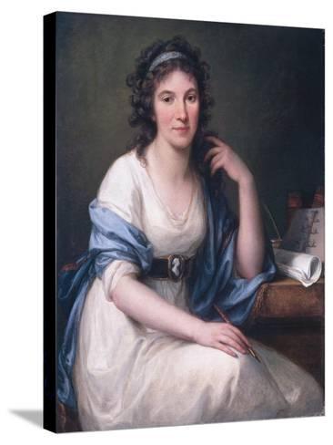 Ellis Cornelia Knight, 1793-Angelica Kauffmann-Stretched Canvas Print