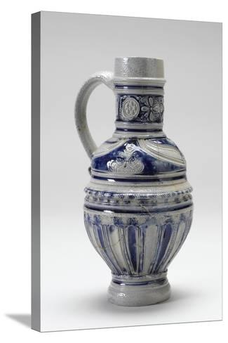 Westerwald Drinking Jug, 1600-20--Stretched Canvas Print