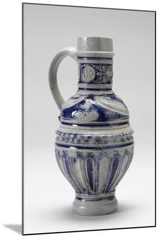 Westerwald Drinking Jug, 1600-20--Mounted Photographic Print