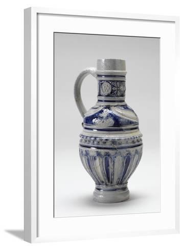 Westerwald Drinking Jug, 1600-20--Framed Art Print
