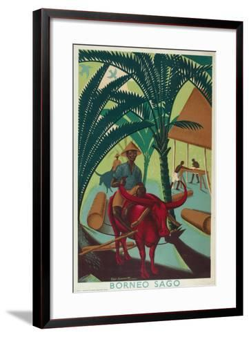 Borneo Sago, from the Series 'Buy from the Empire's Gardens', 1930-Edgar Ainsworth-Framed Art Print