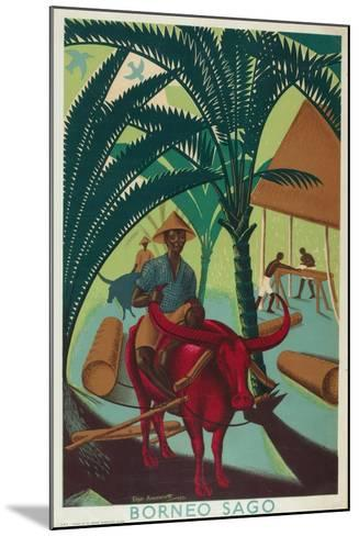 Borneo Sago, from the Series 'Buy from the Empire's Gardens', 1930-Edgar Ainsworth-Mounted Giclee Print