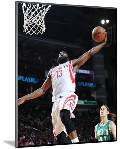 Boston Celtics v Houston Rockets-Bill Baptist-Mounted Photo