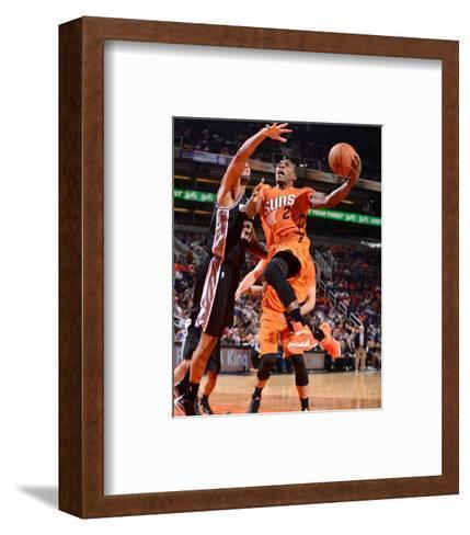 San Antonio Spurs v Phoenix Suns-Barry Gossage-Framed Art Print