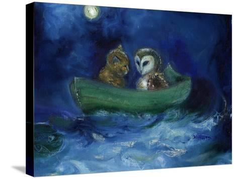 The Owl and the Pussycat, 2014-Nancy Moniz-Stretched Canvas Print