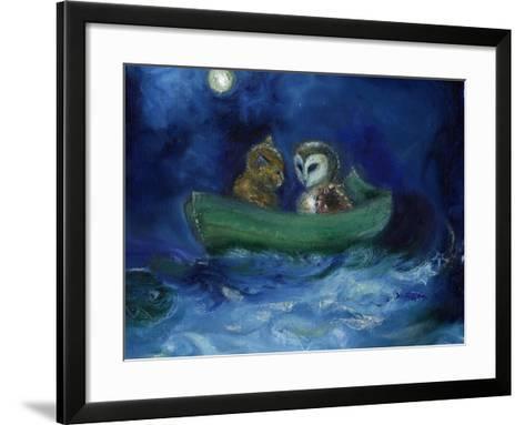 The Owl and the Pussycat, 2014-Nancy Moniz-Framed Art Print
