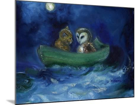 The Owl and the Pussycat, 2014-Nancy Moniz-Mounted Giclee Print