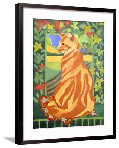 Cat 1, 2014-Jennifer Abbott-Framed Art Print
