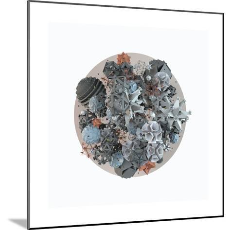 Microcosm, 2014--Mounted Giclee Print