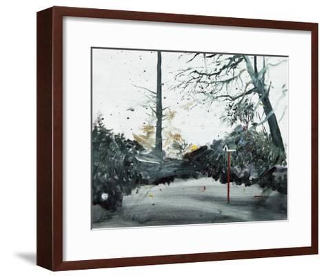 Bird Box, Ohlsdorf Cemetery, 2013-Calum McClure-Framed Art Print
