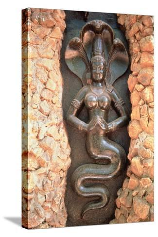Relief from the Snake Garden--Stretched Canvas Print