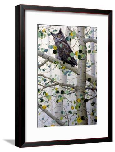 Misty Aspen-Jeff Tift-Framed Art Print