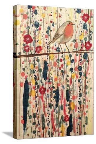 Je Ne Suis Pas Qu'un Oiseau-Sylvie Demers-Stretched Canvas Print