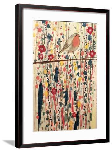Je Ne Suis Pas Qu'un Oiseau-Sylvie Demers-Framed Art Print
