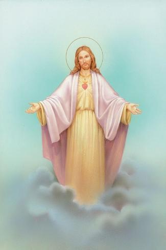Jesus-Christo Monti-Stretched Canvas Print