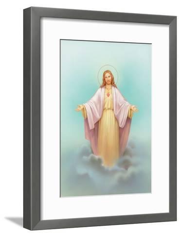 Jesus-Christo Monti-Framed Art Print