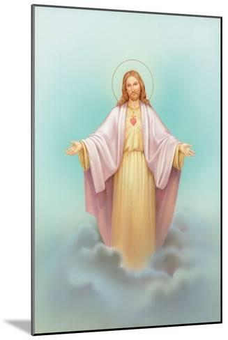 Jesus-Christo Monti-Mounted Giclee Print