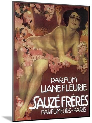 Lianefleurie--Mounted Giclee Print