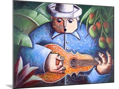Musician-Oscar Ortiz-Mounted Giclee Print