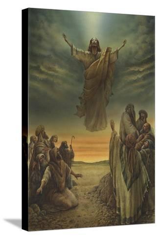 Jesus Resurrection-Val Bochkov-Stretched Canvas Print