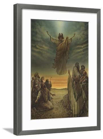 Jesus Resurrection-Val Bochkov-Framed Art Print