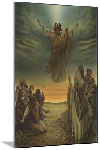 Jesus Resurrection-Val Bochkov-Mounted Giclee Print