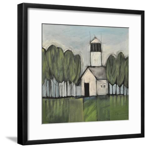Lighthouse-Tim Nyberg-Framed Art Print