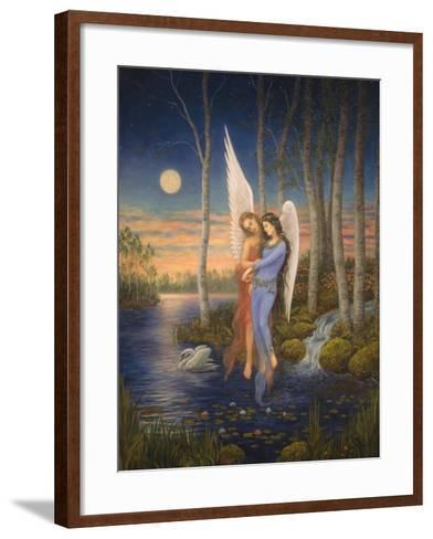 Moon Light Angel-Edgar Jerins-Framed Art Print